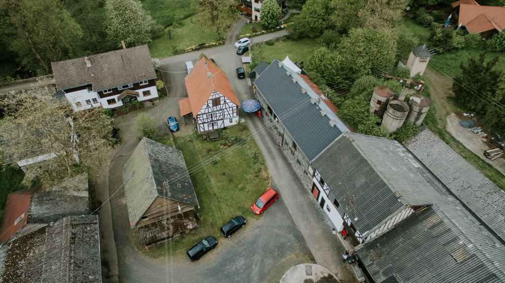 Luftbild Mai 2016, Hof Dapprich