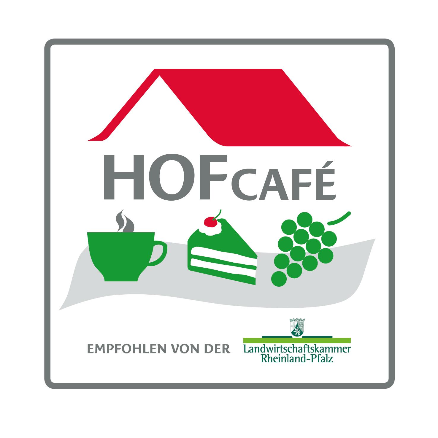 """Auszeichnung """"Empfohlenes Hofcafé"""""""