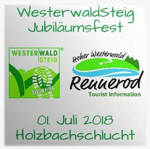 Jubiläumsfest Westerwaldsteig