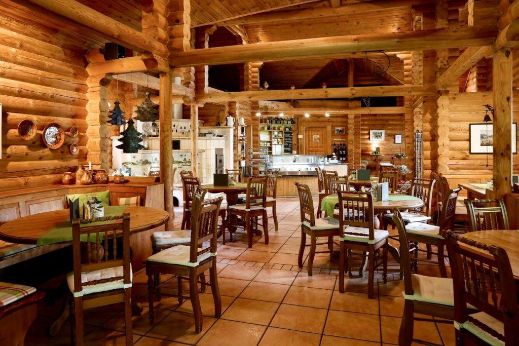 Innenraum des Hof Cafés